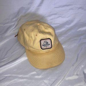 Quicksilver yellow hat